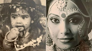Children's Day 2019 Special: Bipasha Basu's Childhood and Grown-Up Bride Look Is Too Cute