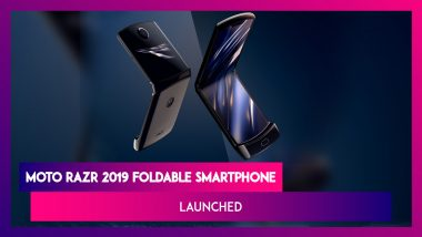 Moto Razr 2019 Foldable Smartphone From Lenovo Launched; Check Price, Sale Date, Features, Variants & Specifications