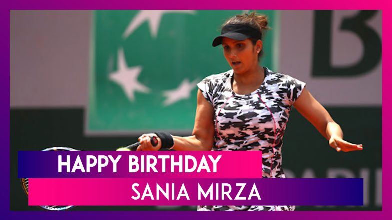 Sania Mirza Birthday Special: 7 Interesting Things to Know About India Tennis Ace as She Turns 33