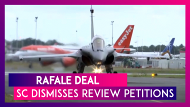 Supreme Court Dismisses Rafale Review Petitions Seeking Probe In Fighter Jet Deal