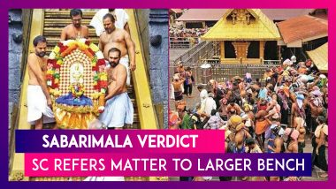 Sabarimala Verdict: SC Refers Matter Of Women's Entry Into The Temple To Seven Judge Larger Bench