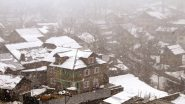 Jammu and Kashmir, Himachal Pradesh, Uttarakhand to Receive heavy Snowfall in Next 24 Hours, IMD Issues Yellow Alert