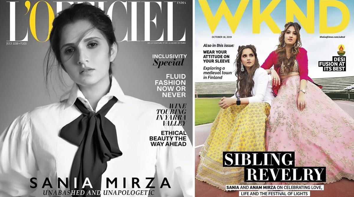 Sania Mirza Turns 33: Here's A Look at Top 5 Magazine Covers Featuring the Ace Tennis Star and Birthday Girl