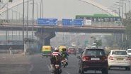 Delhi Air Pollution: AQI Improves to 'Moderate' Category Due to Strong Winds & Dip in Temperature