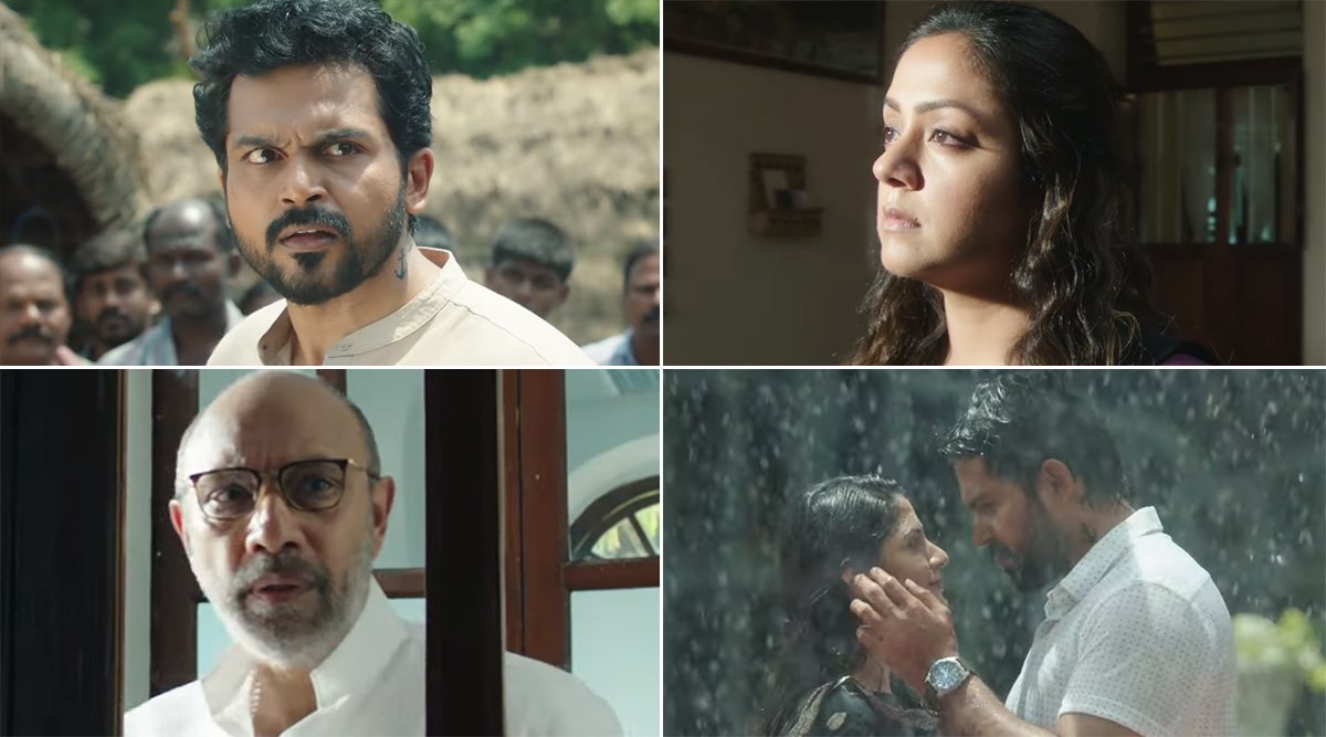 Thambi Teaser: Karthi and Jyotika's Thriller With a Dash of Family Drama Looks Highly Intriguing (Watch Video)