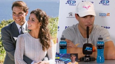 Rafael Nadal Gave It Back to Journalist Who Asked a 'Bullsh!t' Question on Marriage With Xisca Perello After the Tennis Star Lost to Alexander Zverev in the ATP World Tour Finals