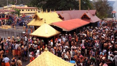 Sabarimala Temple in Kerala Opens Today for Two-Month Long Mandala Pooja Festival