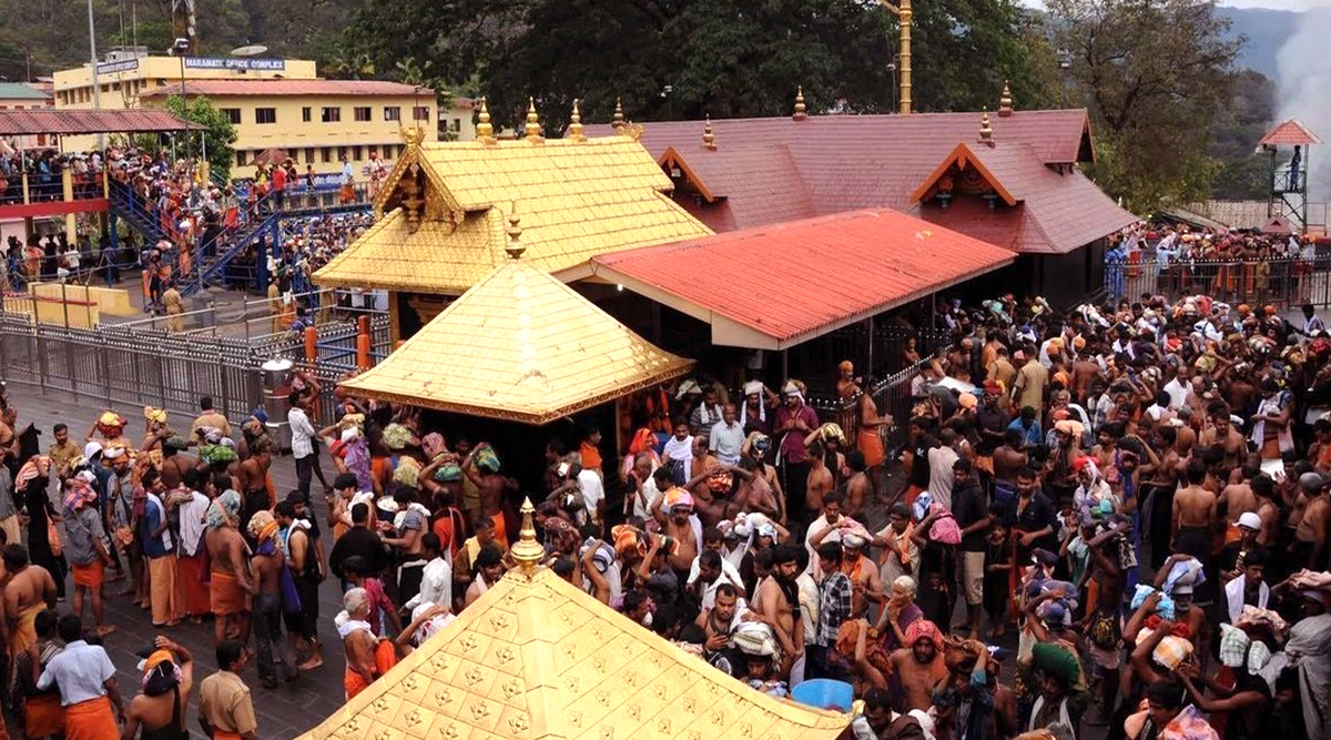 Makaravilakku 2020: Sabarimala All Set for Makara Jyothi; Heavy Security at Lord Ayyappa Shrine During Makar Sankranti