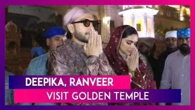 Deepika & Ranveer Visit Golden Temple In Amritsar Post First Wedding Anniversary