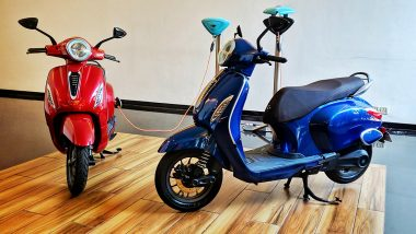 Bajaj Chetak Electric Scooter Showcased in Pune; Expected Price, Features, Bookings & Specifications