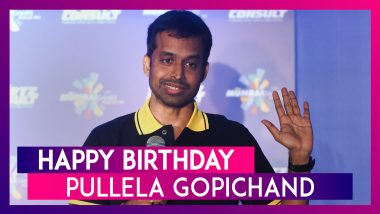 Happy Birthday Pullela Gopichand: Interesting Facts About Indian Badminton's Dronacharya