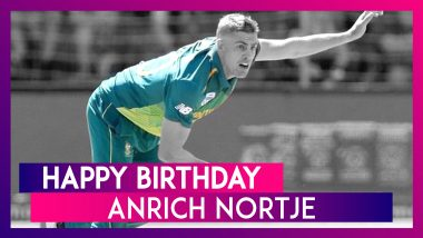 Happy Birthday Anrich Nortje: Things to know about the South African Pacer