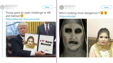 Real or Photoshopped? Ranu Mondal Pics in 'Heavy Golden Makeup' Goes Viral and Twitter Is Making Funny Memes and Jokes