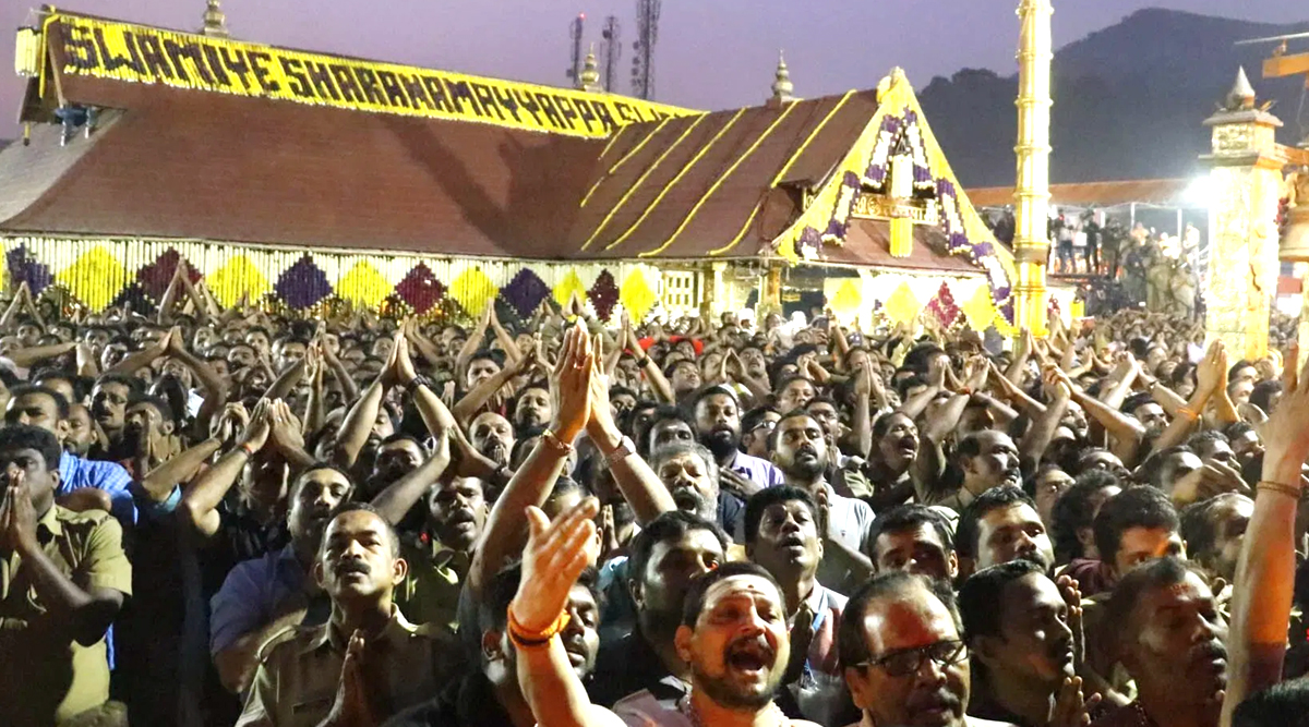 Makaravilakku 2020 Live Streaming Online at This Time From Sabarimala Temple: Watch Makara Jyothi Live Telecast From Ayyappa Shrine in Kerala