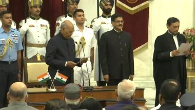 Justice Sharad Arvind Bobde Takes Oath as 47th Chief Justice of India