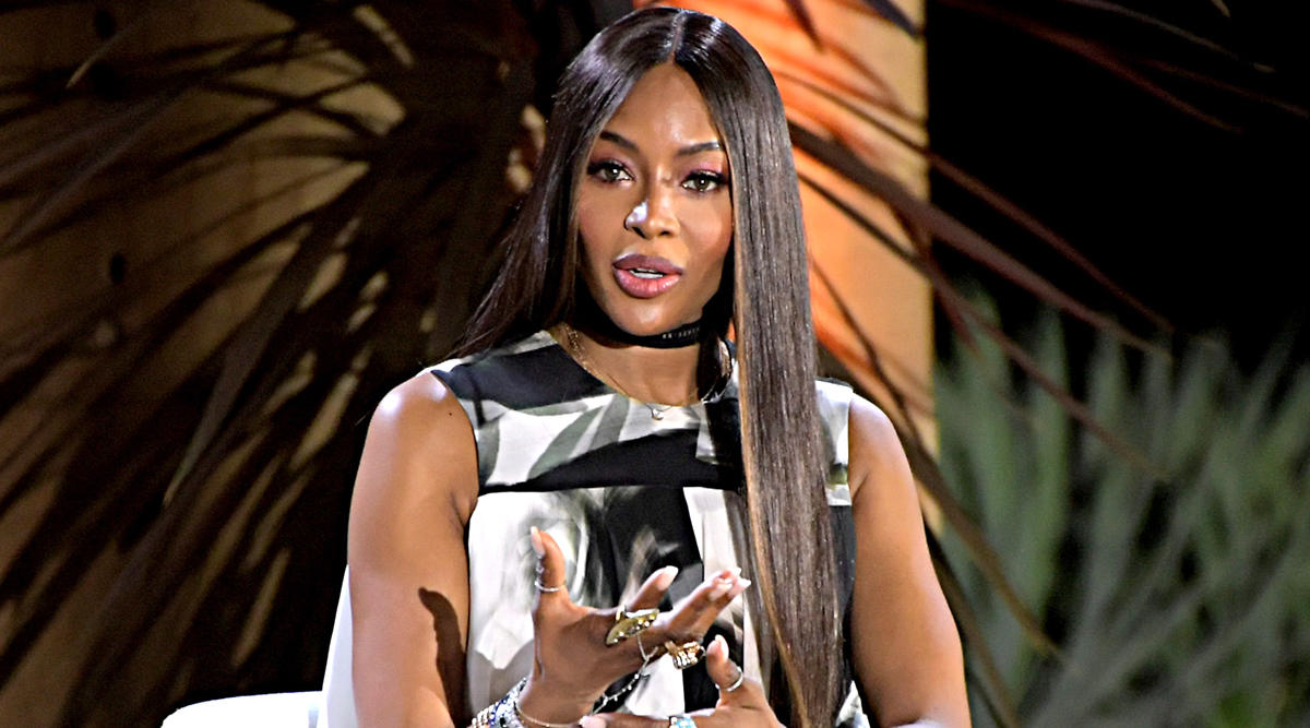 Naomi Campbell: 'Don't Think of Myself as an Icon nor I Am Trying to Compete with Anybody'