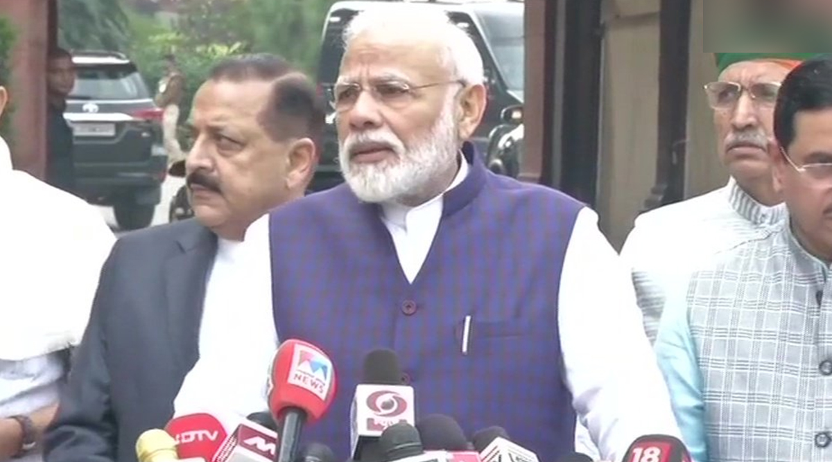 Winter Session of Parliament Begins; PM Narendra Modi Calls For 'Frank Discussions on All Matters'