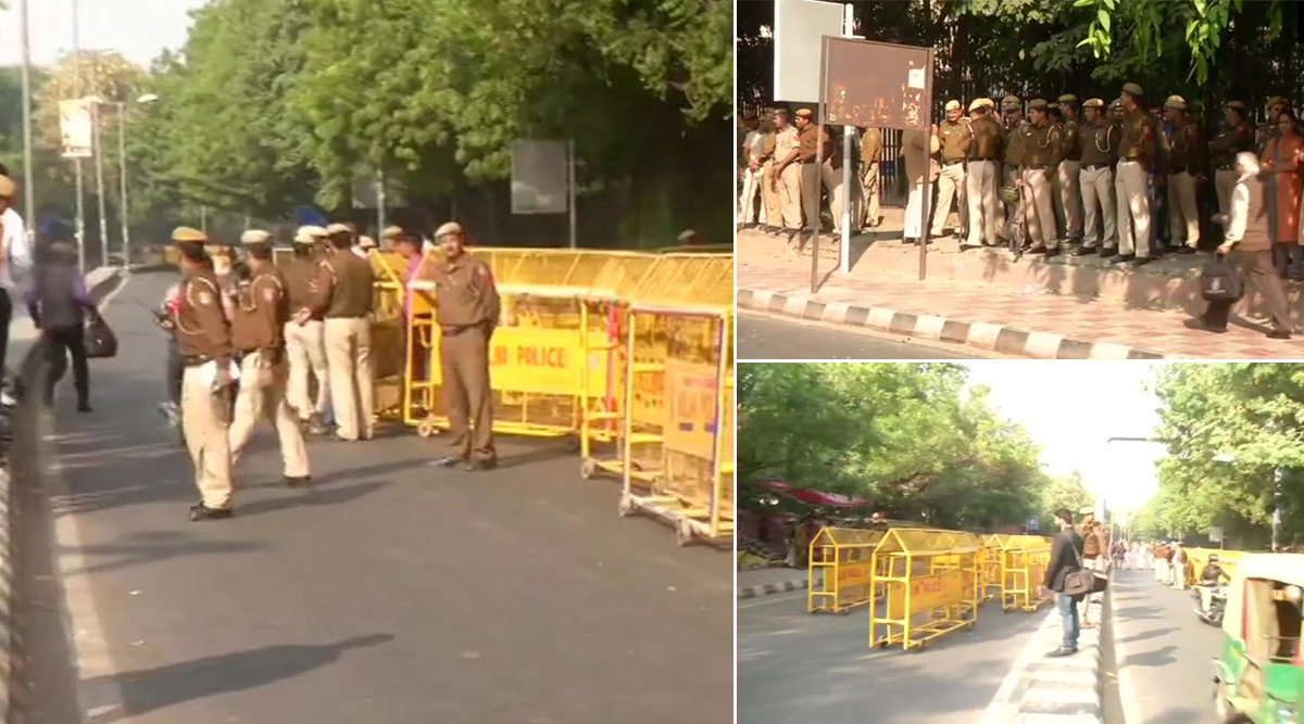 JNU Protest: Section 144 Imposed Near Parliament Ahead of Students' March Against Hostel Fee Hike