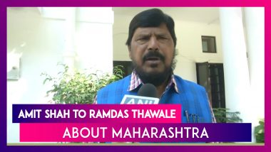 Don't Worry, Everything Will Be Fine: Amit Shah To Ramdas Athawale About Maharashtra