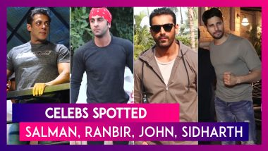 Salman Khan, Ranbir Kapoor, John Abraham & Others Seen In The City | Celebs Spotted