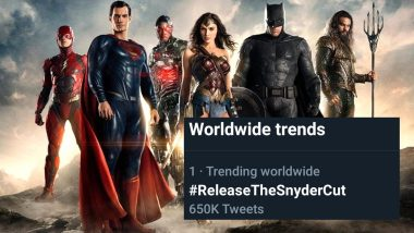 #ReleaseTheSnyderCut: After Gal Gadot, Ben Affleck and Jason Momoa's Posts, DC Fanboys' Demand for Zack Snyder's 'Justice League' From Warner Bros Just Got Stronger