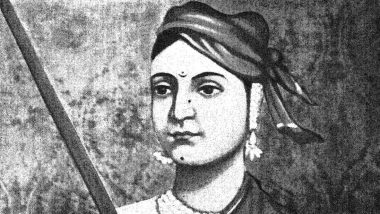 Rani Lakshmi Bai 191st Birth Anniversary: Remembering The Brave Queen of Jhansi Who Embraced Martyrdom For Motherland