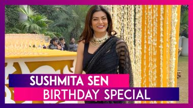 Happy Birthday Sushmita Sen: A Doting Mother Who Made Her First Adoption When She Was 24
