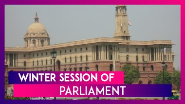 Winter Session of Parliament Begins Today; Know About Important Legislation Likely To Be Passed