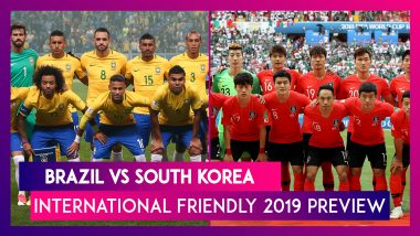 Brazil vs South Korea International Friendly 2019 Preview: Tite's Men Aim to End 5-Match Winless Run