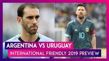 Argentina vs Uruguay, International Friendly 2019 Preview: Lionel Messi, Luis Suarez Meet As Rivals