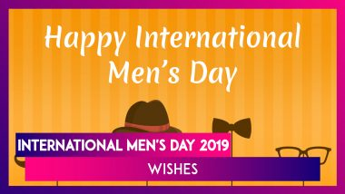 International Men's Day 2019 Greetings: Send WhatsApp Messages, Images & Quotes To Wish on Men's Day