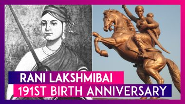 Rani Lakshmibai 191st Birth Anniversary: Remembering The Brave Queen Of Jhansi