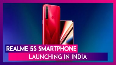 Realme 5s Phone With Quad Rear Cameras Launching in India On November 20; Check Expected Prices, Features, Variants, Colours & Specifications