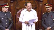 Rajya Sabha Marshals Uniform Row: RS Chairman Venkaiah Naidu Orders Review of New Military-Style Uniform of Marshals After Defence Personnel Raise Objections