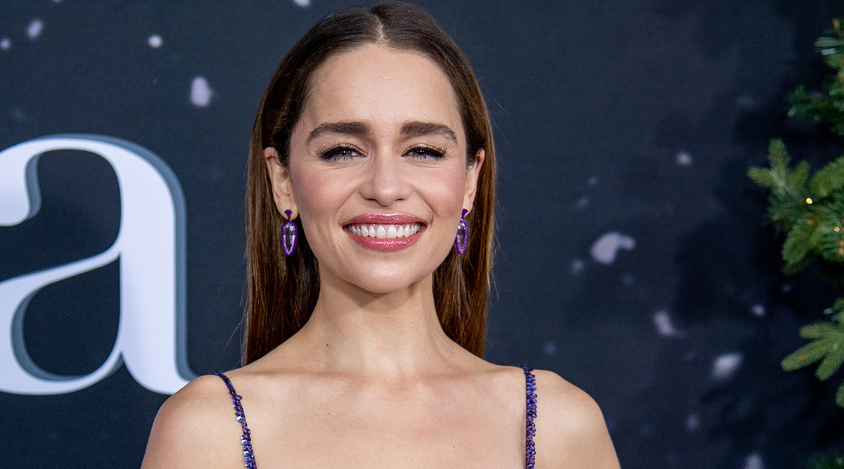 Emilia Clarke Did a Lot of Drinking on 'Last Christmas' Set