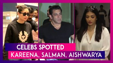 Celebs Spotted: Salman Khan, Kareena Kapoor, Aishwarya Rai Bachchan Seen In The City