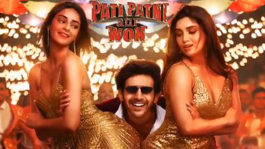 Ankhiyon Se Goli Mare Song: All that Glitters is Gold for Kartik Aaryan, the New Remake Starring Bhumi Pednekar and Ananya Panday to Release Tomorrow