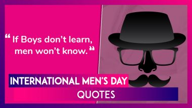 International Men's Day 2019 Quotes; Sayings, Images and Messages to Wish Men on This Observance