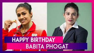 Babita Phogat Birthday Special: 6 Interesting Things to Know About Indian Wrestler as She Turns 30