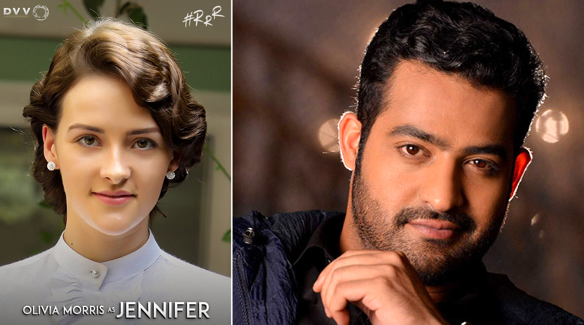 RRR: Olivia Morris Replaces Daisy Edgar - Jones as the Lead Actress Opposite Jr NTR in SS Rajamouli's Historical Drama