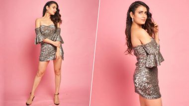 Fatima Sana Shaikh's Bedazzled Off-Shoulder Dress Is Perfect for Your New Year's Eve Party 2020