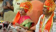 Mumbai Mayor Polls 2019: Shiv Sena Leaders Kishori Pednekar and Suhas Wadkar Elected As Mayor and Deputy Mayor of BMC Unopposed