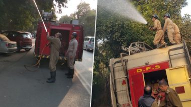 Delhi Air Quality: Fire Services Begins Sprinkling Water in City's 13 Pollution Hotspots
