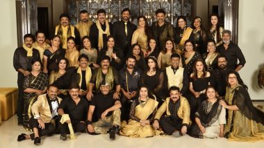 Mohanlal, Chiranjeevi, Nagarjuna, Venkatesh and Jackie Shroff Come Together to Give us the Picture of the Year While Celebrating Class of 80's
