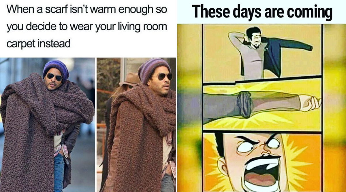 Winter Memes and Jokes: From 'No Bathing' to 'Winter Fashion' LOL to These Funny Memes As the Weather Turns Chilly
