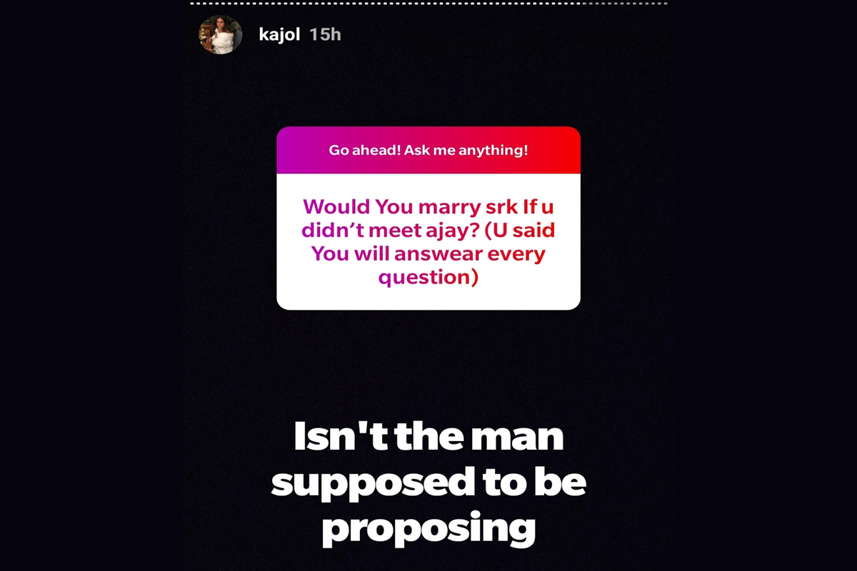 Kajol's Instagram AMA