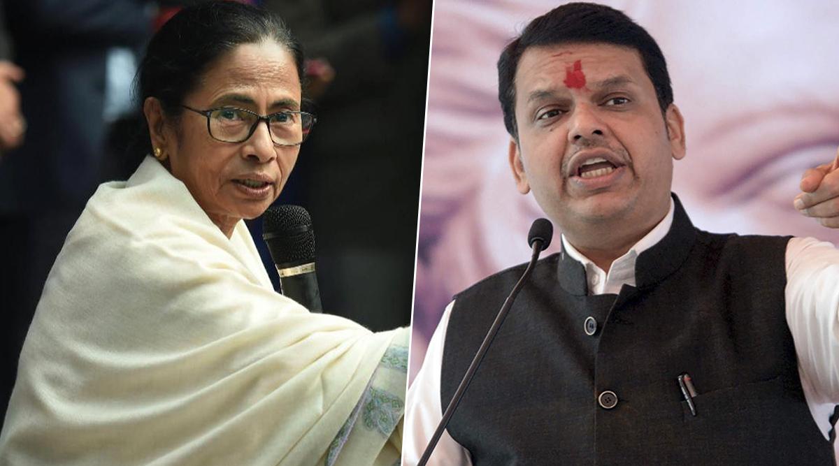Maharashtra Political Drama: Mamata Banerjee Takes Dig at Devendra Fadnavis For Taking Oath as CM Without Majority