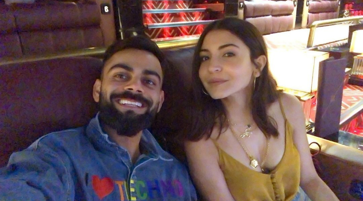 Virat Kohli Can't Stop Beaming in his New Picture with Anushka Sharma from Their Movie Date Night