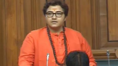 Govardhan Dangi, Congress MLA From Madhya Pardesh, Threatens to Burn Pragya Singh Thakur Alive For Her 'Deshbhakt Godse' Remark (Watch Video)