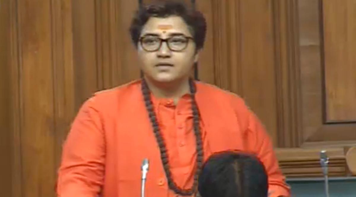 Nathuram Godse a 'Deshbhakt': BJP MP Pragya Thakur Refers to Mahatma Gandhi's Assassin as Patriot in Lok Sabha